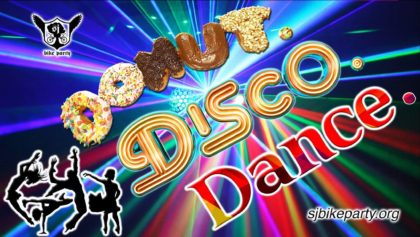 The Donut Disco Ride! Aug 17th, 2018