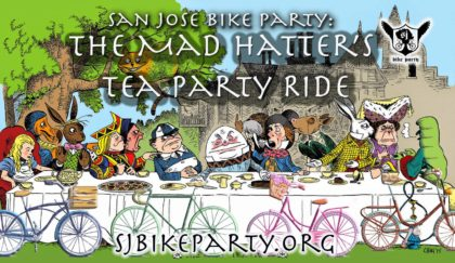The Mad Hatters Tea Party Ride