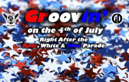SJBP Groovin on the 4th of July: Rose, White & Blue Parade 2019