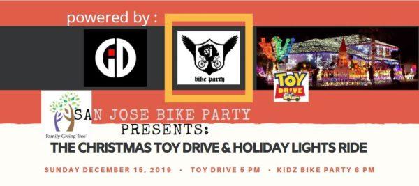 SJBP Kidz Bike Party Holiday Lights Ride 2019