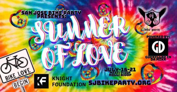 SJBP presents the Summer of Love Ride!