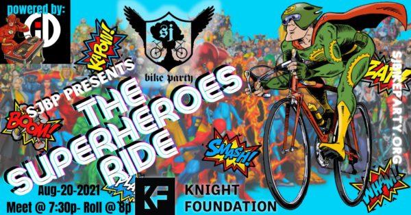 SJBP presents the Superheroes Ride!
