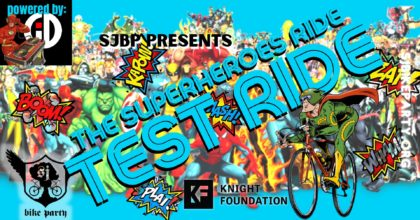 Test Ride 3 — The Superheroes Ride!