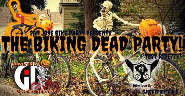 SJBP presents The Biking Dead Halloween (Test) Ride!