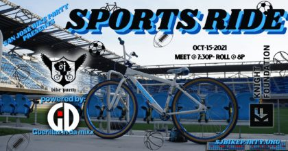 SJBP presents the Sports Ride!